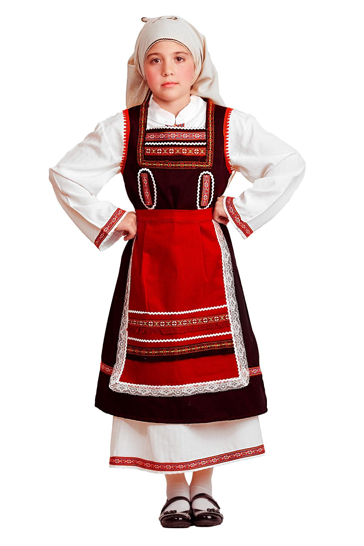 Παραδοσιακη φορεσια Θρακης No 4-6