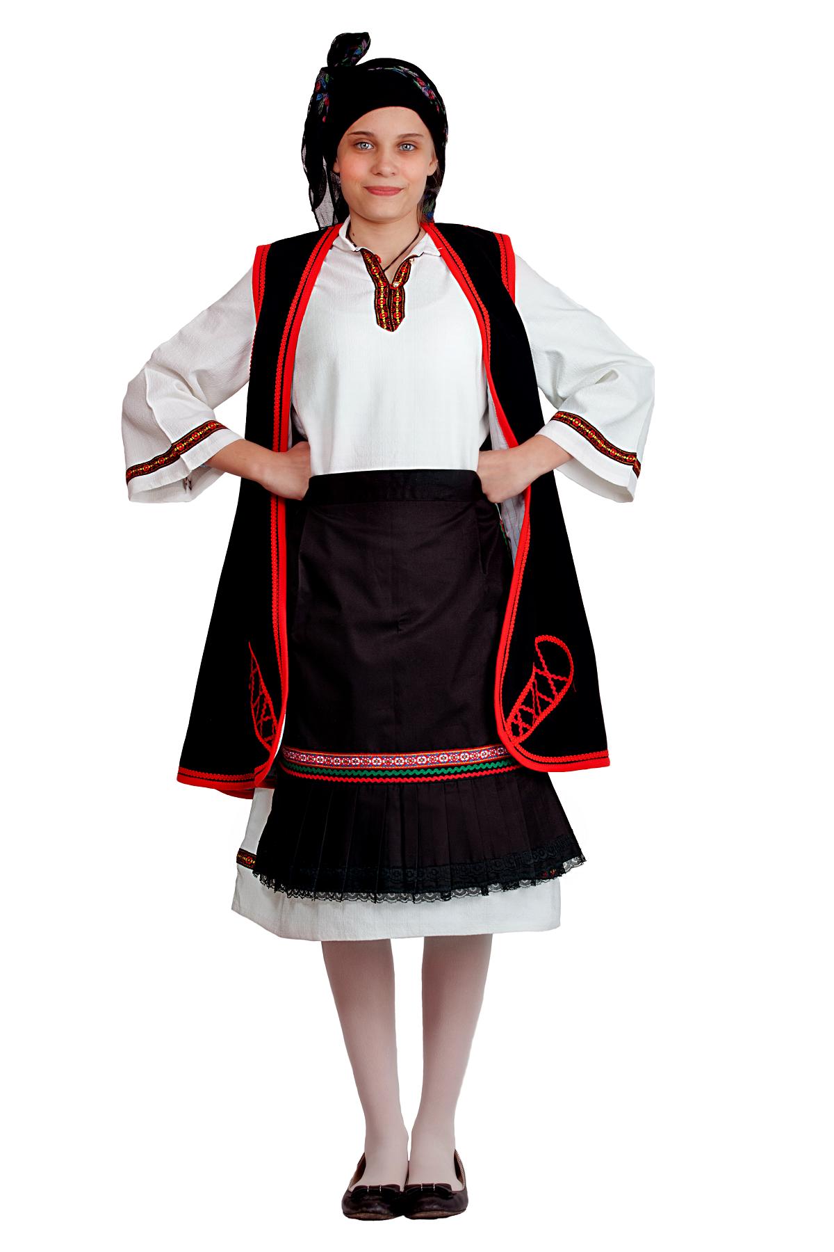 Παραδοσιακη στολη Ηπειρωτισσας No12-14
