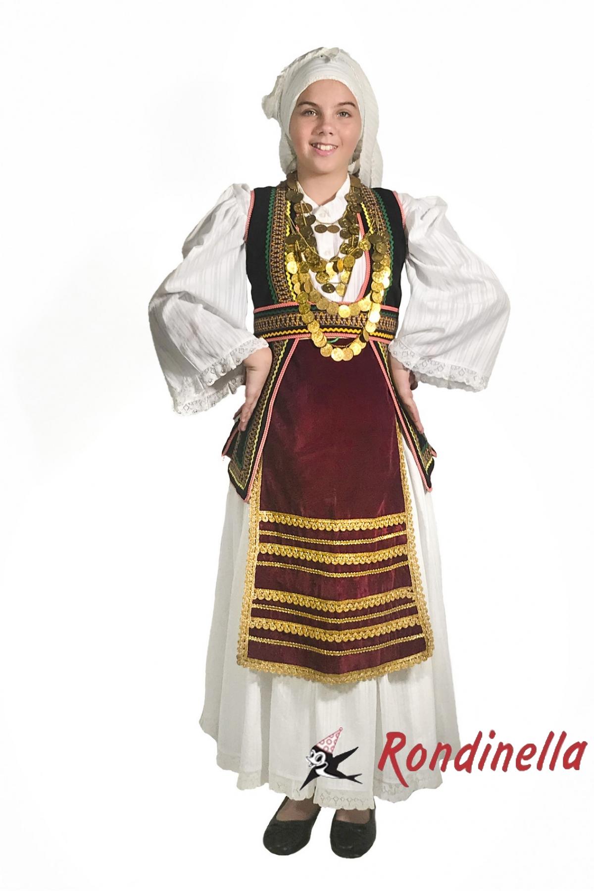 Παραδοσιακη στολη Στερεας Ελλαδας Νο12-14